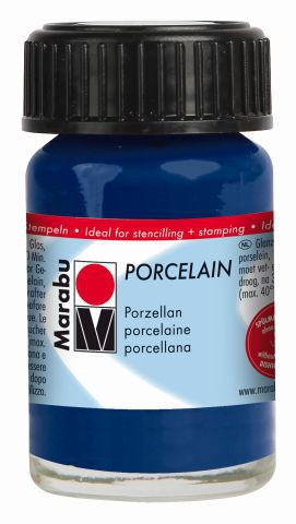 Marabu-Porcelain 293, 15 ml Nachtblau