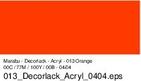 Marabu-Decorlack 013, 15 ml orange