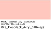 Marabu-Decorlack 029, 15 ml hautfarbe