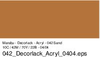 Marabu-Decorlack 042, 15 ml sand