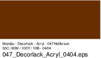 Marabu-Decorlack 047, 15 ml hellbraun