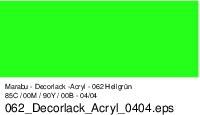 Marabu-Decorlack 062, 15 ml hellgrün