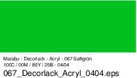 Marabu-Decorlack 067, 15 ml saftgrün