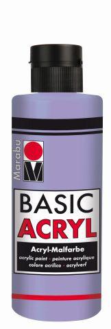 Marabu-BasicAcryl 007, 80 ml lavendel