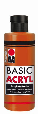 Marabu-BasicAcryl 008, 80 ml terracotta