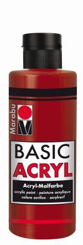 Marabu-BasicAcryl 009, 80 ml orientrot