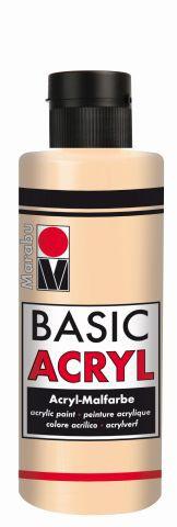 Marabu-BasicAcryl 029, 80 ml hautfarbe