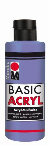 Marabu-BasicAcryl 035, 80 ml flieder