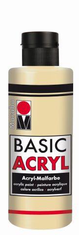 Marabu-BasicAcryl 042, 80 ml sand
