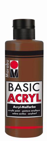 Marabu-BasicAcryl 047, 80 ml hellbraun