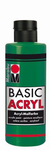 Marabu-BasicAcryl 067, 80 ml saftgrün