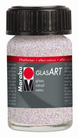Marabu-GlasArt 587, 15 ml Glitter-Irisierend