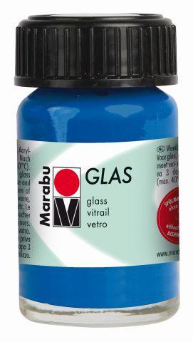 Marabu Glas, Ultramarinblau dunkel 055, 15 ml