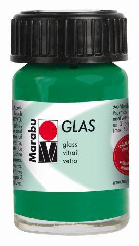 Marabu Glas, Dunkelgrün 068, 15 ml