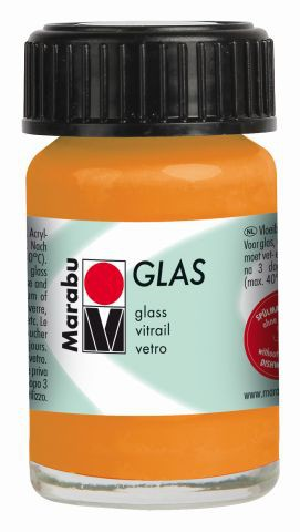 Marabu-Glas 013, 15 ml orange