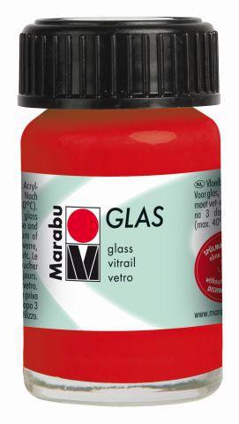 Marabu-Glas 125, 15 ml kirsche