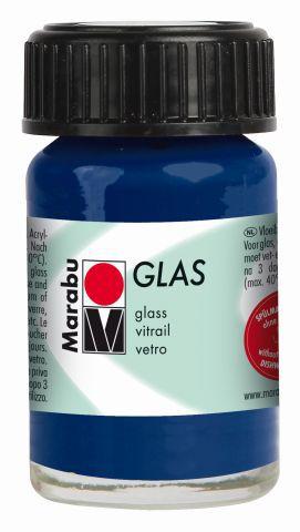 Marabu-Glas 293, 15 ml nachtblau