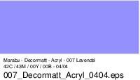 Marabu-Decormatt 007, 15 ml lavendel