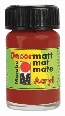 Marabu-Decormatt 008, 15 ml terracotta