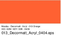 Marabu-Decormatt 013, 15 ml orange