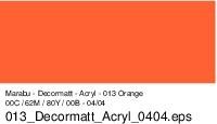 Marabu-Decormatt 013, 15 ml orange