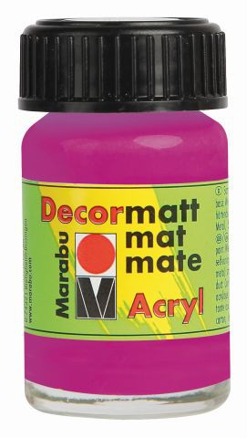 Marabu-Decormatt 014, 15 ml magenta