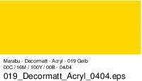 Marabu-Decormatt 019, 15 ml gelb