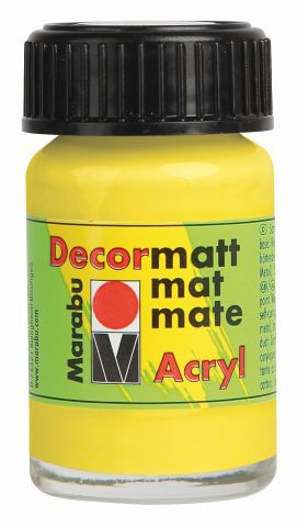Marabu-Decormatt 020, 15 ml zitron