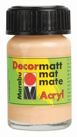 Marabu-Decormatt 029, 15 ml hautfarbe