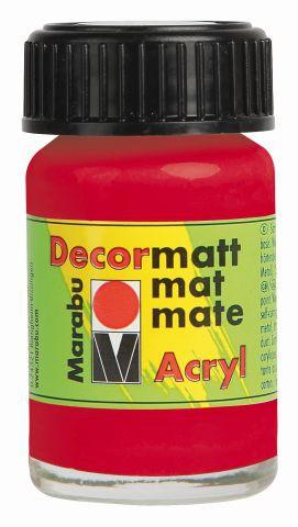 Marabu-Decormatt 031, 15 ml kirschrot