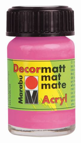 Marabu-Decormatt 033, 15 ml pink