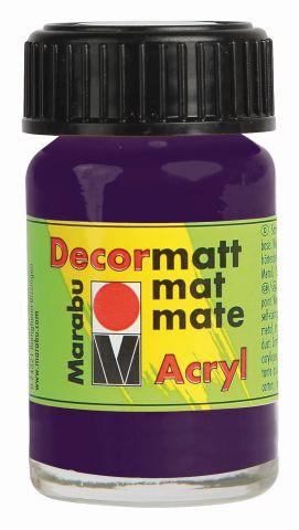 Marabu-Decormatt 039, 15 ml aubergine