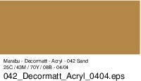Marabu-Decormatt 042, 15 ml sand