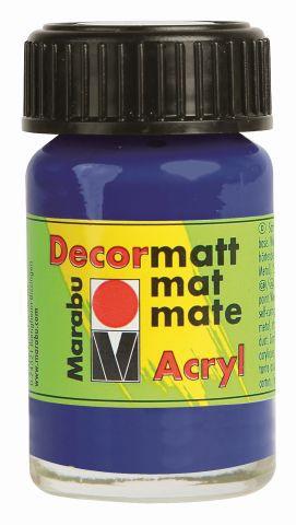Marabu-Decormatt 051, 15 ml violett dkl.