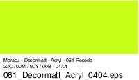Marabu-Decormatt 061, 15 ml reseda