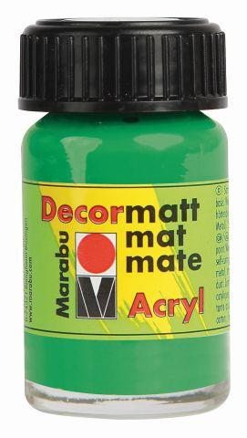 Marabu-Decormatt 062, 15 ml hellgrün