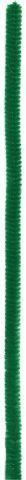 Chenilledraht/Biegeplüsch 8mm 10 St./50 cm/grün