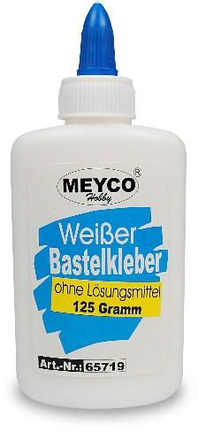 Weißer Bastelkleber / 125g Flasche