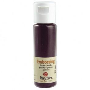 Embossing-Puder, brombeere, deckend, 20 ml Flasche