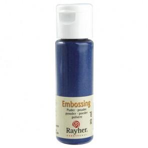 Embossing-Puder, royalblau, deckend, 20 ml Flasche