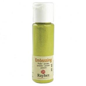 Embossing-Puder, maigrün, deckend, 20 ml Flasche