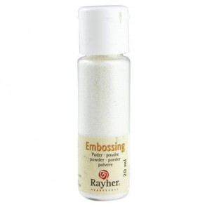 Embossing-Puder, irisierend, transparent, 20 ml Flasche