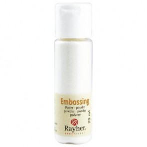 Embossing-Puder, kristall, transparent, 20 ml Flasche