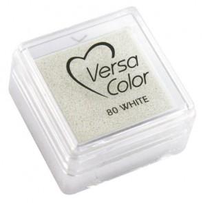 Stempelkissen  Versacolor , weiß, Stempelfläche 2,5x2,5 cm