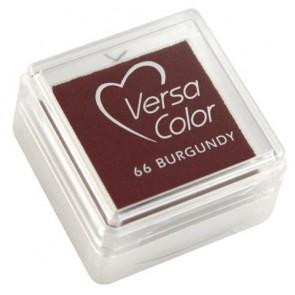 Stempelkissen  Versacolor , burgund, Stempelfläche 2,5x2,5 cm