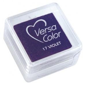 Stempelkissen  Versacolor , violett, Stempelfläche 2,5x2,5 cm