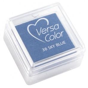 Stempelkissen  Versacolor , himmelblau, Stempelfläche 2,5x2,5 cm