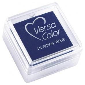 Stempelkissen  Versacolor , royalblau, Stempelfläche 2,5x2,5 cm