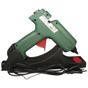 Heißklebepistole,kabellos m.Basisstation, 20,5x17cm, Blister-Box 1Stück