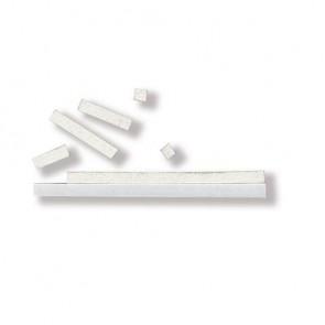 3D-Klebekissen, 3x100 mm, weiß, 2 mm stark, SB-Karte: Platte 10x10 cm